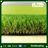 Látex de cuatro colores que mueve hacia atrás la hierba artificial hecha en Shangai