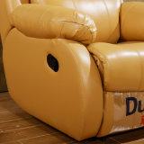 현대 전자 Recliner 가죽 소파 가정 극장 영화관 의자