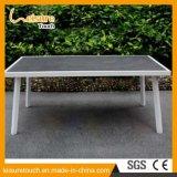 2017 moderne Stuhl-Tisch-AluminiumBistro-gesetzter Freizeit-Garten, der Aluminiumim freienmöbel speist