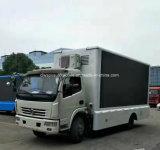 Alta calidad LED al aire libre de las ruedas de Dongfeng 6 que hace publicidad del carro