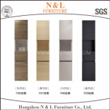 N & L 2017 Gabinete de vaidade de parede de PVC MDF montado na parede