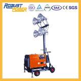 Lichten van de Toren van de Reeks van de Generator van de noodsituatie 5kw de Draagbare Europese Elektrische