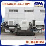 Móvil trituradora de impacto, trituradora móvil para la venta