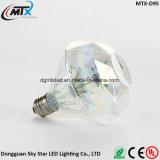 2017 blanco caliente de Edison de la vendimia de la bombilla de A19 2 W LED del estilo E27 220V LED del bulbo LED del bulbo de cristal del filamento para la decoración casera