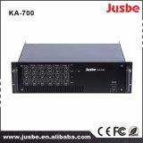 JusbeのKa700 6チャネル200With8ohm 350With4ohmの高性能の専門の可聴周波デジタル力のステレオアンプ
