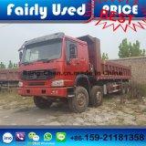 Verwendeter HOWO Lastkraftwagen mit Kippvorrichtung 8*4 für Verkauf