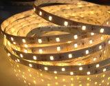 Luz de tira impermeable del silicio LED