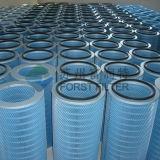 Spin-Web de Cilindrische en KegelPatroon van de Filter van de Lucht van de Turbine van het Gas