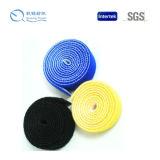 Material de nylon da venda quente da alta qualidade de volta ao gancho e ao laço traseiros