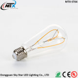 Ampoule à LED Flexible Soft Filament Ampoule Edison antique ST64