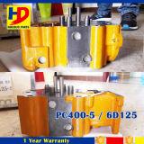 PC400-5 cabeça de cilindro do motor da máquina escavadora 6D125 para as peças de motor de KOMATSU
