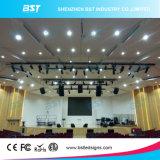 P5 alto affitto dello schermo della parete di definizione LED, risparmio di energia della visualizzazione di LED di colore completo di Digitahi