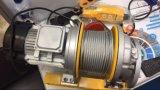 El tipo micro torno eléctrico, alzamiento de cuerda eléctrico de alambre con teledirigido