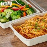 Wegwerfplastiknahrungsmittelkasten-Behälter