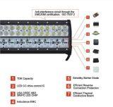 オフロード手段の自動車部品LEDのヘッドライト9のインチ108Wのクリー族の点の洪水のコンボのビームLED作業ライトバー