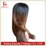 Diritto naturale del merletto della parte anteriore delle parrucche piene dei capelli umani