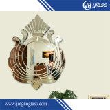 جدار مرآة وزجاج نوبة مرآة لأنّ غرفة حمّام زخرفة