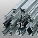 Perfil industrial de alumínio de prata anodizado