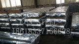 물결 모양 아연은 금속 건축재료를 위한 도와에 의하여 직류 전기를 통한 강철 루핑 장을 입혔다