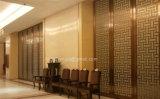 ホテルのロビーの金属の区分デザイン