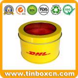 ギフトの錫ボックスパッキングのための金属の錫の円形の缶