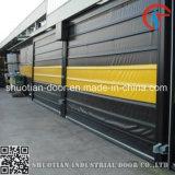 El PVC rueda para arriba la puerta rápida automática de la velocidad (ST-001)