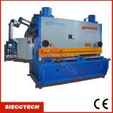 Máquina hidráulica da tesoura da guilhotina da placa pesada de QC11y