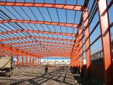 Estructura de acero pintada