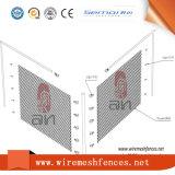 Rete fissa quadrata rivestita di collegamento Chain della rete metallica del PVC
