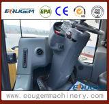 Carregador da roda de Shandong Zl50g 5ton da maquinaria da engenharia