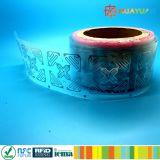 A freqüência ultraelevada RFID de ISO18000C H47 Monza 4QT seca o Tag esperto do embutimento
