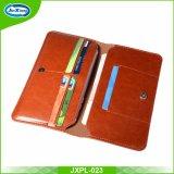 Хорошее качество для бумажника случая iPhone 7 кожаный
