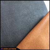 Кожа PU высокого качества синтетическая для ботинок Hw-209 людей