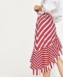 Новая юбка печатание весны конструкции