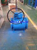 A engrenagem operou a válvula de esfera forjada PC do eixo 3 (Q347F)