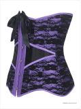 Corsé gótico atractivo del amaestrador de la cintura de la talladora de la carrocería de las mujeres de la manera