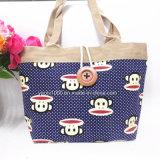 創造的なキャンバスの女性ショッピング・バッグ
