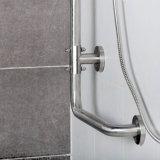 Barras de gancho agarrador de la L-Dimensión de una variable del acero inoxidable para el cuarto de baño