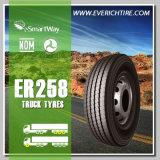 1000r20 alle Stahl-LKW-Reifen weg Reifen des Straßen-Gummireifen-vom chinesischen Schlamm-Gummireifen-TBR mit Garantiebedingung