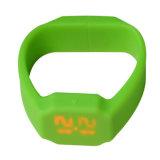 USB Memory&#160 do bracelete da forma do Wristband do silicone; Vara para a promoção