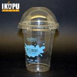 Joghurt-Plastikcup mit Abdeckung-flacher Kappe