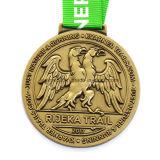 Vecchio premio Meedals del gioco di mazza di figura della mazza 3D del metallo su ordinazione