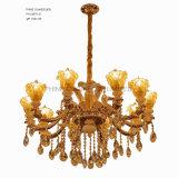 Phine europäische Dekoration-Innenbeleuchtung gebildet von der Zink-Legierungs-hängenden Lampe