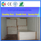 Hoja de la espuma del PVC de los materiales de construcción de China (1mm-30m m)