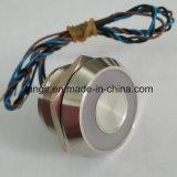 25mm Piezo Swith com iluminação de anel grande IP68 impermeável