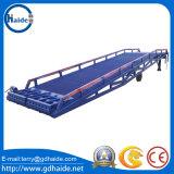 Rampa di caricamento mobile del contenitore resistente del carrello elevatore da 10 tonnellate