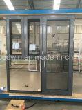 Подгонянное ценой по прейскуранту завода-изготовителя окно алюминиевого сплава размера
