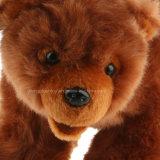 Fournisseur d'ours de simulation de Brown de 8 de pouce ours de peluche