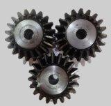 Поверхность зуба конического зубчатого колеса 45 металла погашена 90 градусов один против одного и от 20 до 25 зубов и 30 конических зубчатых колес зубов