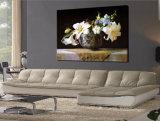 La lona decorativa de la flor del cuadro del arte imprime la pintura al óleo clásica impresa en lona